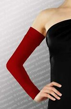 Long Arm Sleeves Deluxe Cotton Islamic hijab-scarf  #11 Burgundy Ships From USA