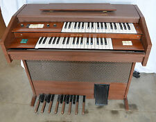 Organo elettrico a pedali welson festival electric organ church piano in radica
