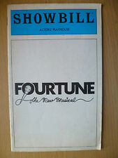 SHOWBILL THEATRE PROGRAMME 1980-FOUR TUNE by BILL RUSSELL