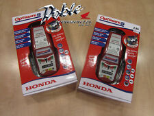 Pair of Honda Optimate 5 Battery Charger Optimiser Conditioner for Car & Bike x2