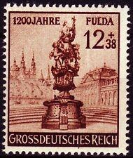 Deutsches Reich 1944 ** Mi.886 Stadt City Fulda | Statur Figure [drp014]