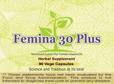 Femina 30 Plus (Nutritional support for Females) 90 Capsules, 800 mg Each