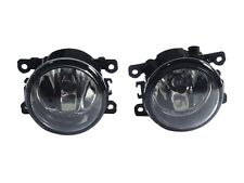1Pair Clear Front Bumper Fog Lights Lamps for Ford Fiesta 2013-2015
