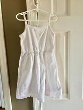 Hanna Andersson White Dress/Nightgown - Size 120