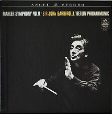 MAHLER: Symphony No. 9-NM1964 2LP BARBIROLLI/BERLIN PHILHARMONIC w/ NOTES
