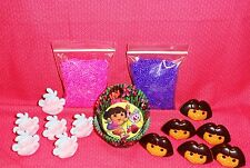 Dora,Cupcake Kit, Cupcake Rings,Sprinkles,Bake Cups,Wilton, Pink/purple,415-6305