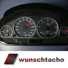 Tachoscheibe für Tacho BMW E46 Diesel*Black*280 Kmh M3.z