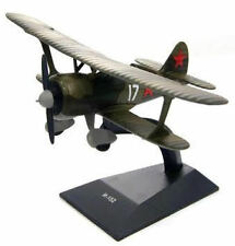 Polikarpov I-152 Chato WWII Soviet Air Force Fighter Aircraft DeAgostini 1:100