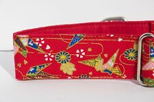 1 1/2 inch Martingale, small greyhound, whippet collar