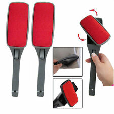 3  SWIVEL MAGIC Lint BRUSH Clothes Fabric Pet Hair Dust Dandruff Remover Cleaner