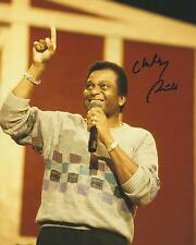 **GFA American Country Singer *CHARLEY PRIDE* Signed 8x10 Photo AD5 COA**