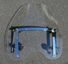 "18""x16"" Clear Windshield Windscreen w/Hardware for Suzuki V-Star Vulcan Cruiser"