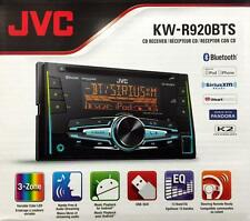 JVC KW-R920BTS Double DIN Bluetooth In-Dash Car Stereo with SiriusXM Radio Ready