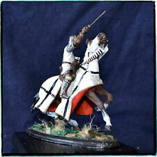Tin Soldier 54 mm, Crusader, Knight of the Teutonic Order, Hand Painted, Niena