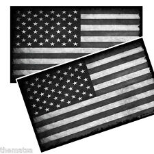 SUBDUED AMERICAN FLAG TOOLBOX HELMET BUMPER PACK OF 4 STICKER DECAL USA MADE