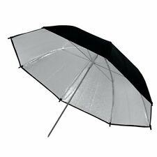 Black & Silver studio flash Umbrella 43in 109cm