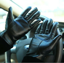 For Men / Women Winter Leather Driving Motorcycle Biker Full Finger Warm Gloves