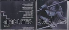 MADONNA 4 MINUTES VOLUME 1 DOUBLE REMIX CD'S PROMO