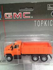 HO 1/87 Boley # 3008-99 GMC Tandem Axle Topkick Truck w/stake bed body - Orange