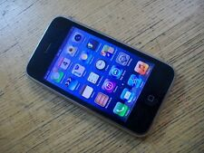 Apple iPhone 3gs 16gb a1303b Nero Sbloccato qualsiasi scheda SIM Grado B Smartphone UK GB