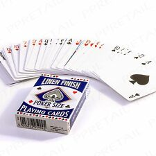 FULL DECK Classic Poker Playing Cards Casino Games Tournament Magic Trick Snap