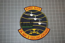 """USAF 438th ALCS """"The Marc Of Excellence..Worldwide"""" Patch (B17-B)"""