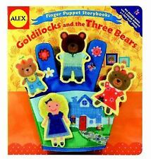 Alex Toys Finger Puppet Storybooks: Goldilocks and the Three Bears