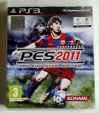 PS3 PES 2011 KONAMI PRO EVOLUTION SOCCER  (Play station 3)