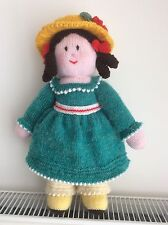 """Hand knitted Doll / Toy """"Emily"""""""