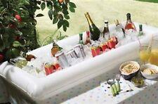 Gonflable bar à vin bière bouteille cooler seau à glace piscine plateau table fête