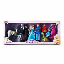 Disney Store Sleeping Beauty Deluxe Doll Set Flora Fauna & Merryweather Aurora +