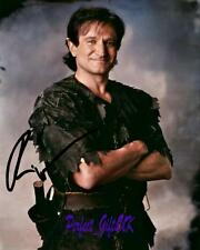 Robin Williams - Hook SIGNED AUTOGRAPHED 10X8 PR-PRINT PHOTO