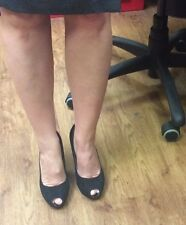 Stiletto Heels. Used All Day In The Office. Well Worn.