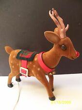 Rare 1950's Rudolph the Red Nosed Reindeer Telco Motionette Figure Moves