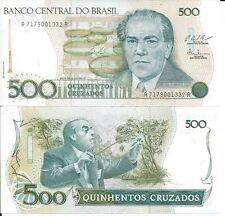 BRASIL BILLETE 500 CRUZADOS 1987 PICK 212C