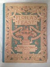 Walter Crane - Flora's Feast A Masque of Flowers - 1st/1st 1889 - Lovely Copy
