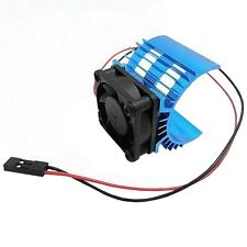Aluminum Heatsink & Cooling Fan for 1:10 HSP RC Car 540 550 3650 Size Motor  S