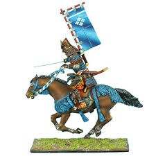 First Legion: SAM024 Mounted Samurai Charging with Katana and Sashimono - Takeda