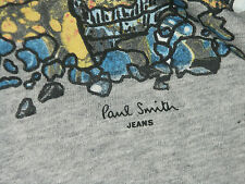 PAUL SMITH COTTON LIGHT-WEIGHT T-SHIRT / TOP BNWT RARE SZ-M