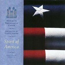Spirit of America by Mormon Tabernacle Choir (CD, Jun-2003, Mormon Tabernacle)