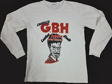 VTG CHARGED G.B.H GBH T SHIRT PUNK HARDCORE Discharge Crass Exploited Black Flag