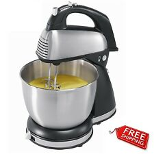 Dough Mixer Electric Food Blender Stand Hand Cake Maker 6-Speeds Stainless Steel
