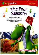 Baby Genius The Four Seasons (DVD 2006) Nature and Classical Music for Infant