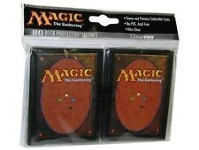 80 ULTRA PRO MAGIC CARD BACK DECK PROTECTORS SLEEVES MTG Standard Art