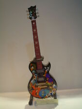 Miniature Guitar (24cm Tall) : METALLICA JAMES HETFIELD CUSTOM CULTURE