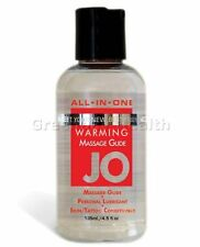 System Jo Warming Massage Oil Body Glide Personal Lubricant Lube 4 oz