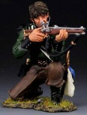 THOMAS GUNN NAPOLEONIC BRITISH NAP018B 95TH RIFLES KNEELING FIRING NO HAT MIB