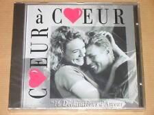 CD / COEUR A COEUR / 16 DECLARATIONS D'AMOUR EN CHANSON / NEUF SOUS CELLO