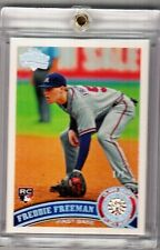 2011 Topps Diamond Anniversary Freddie Freeman Diamond Embedded Rc (1/1)