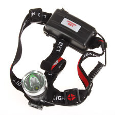 Waterproof 1600 Lumens CREE XM-L T6 LED 3 Modes Adjustable Headlamp Head Torch
